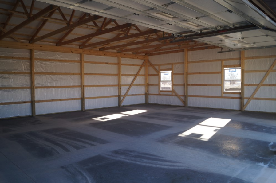 flooring options for pole barn