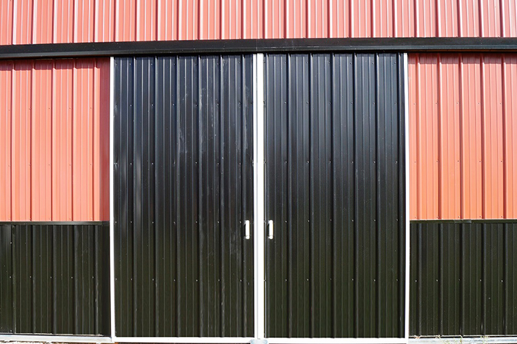 Door Options for Pole Barns